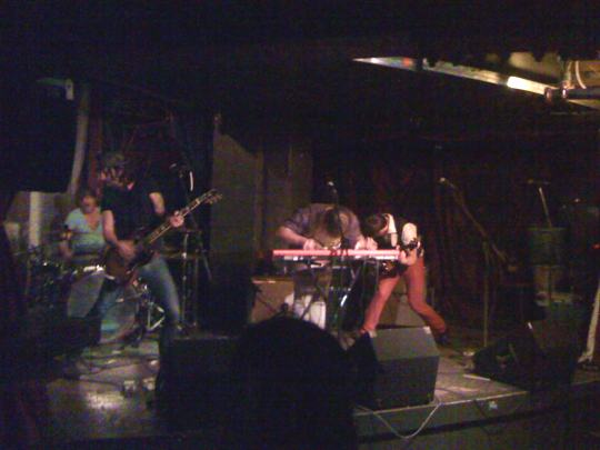 Bend Sinister Rocking Out at the Seahorse Tavern, Halifax
