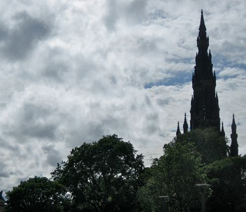 Sir Walter Scott Monument in Edinburgh