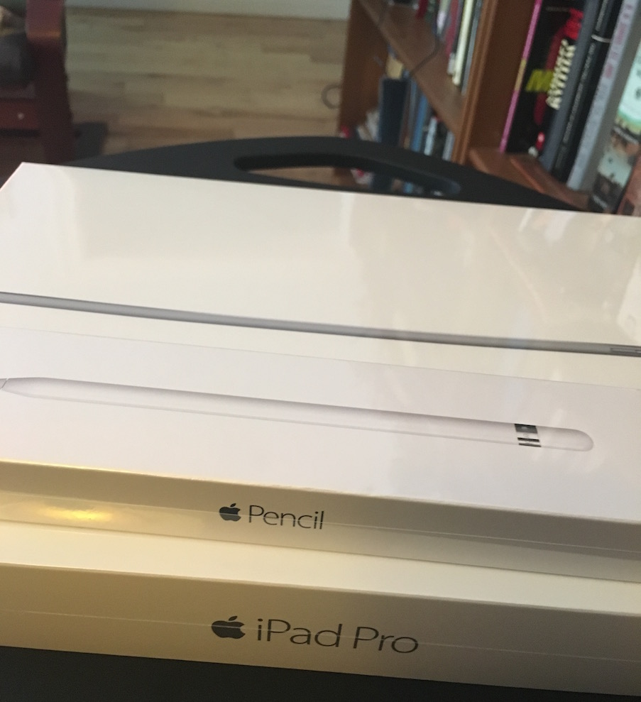My new iPad Pro and Pencil