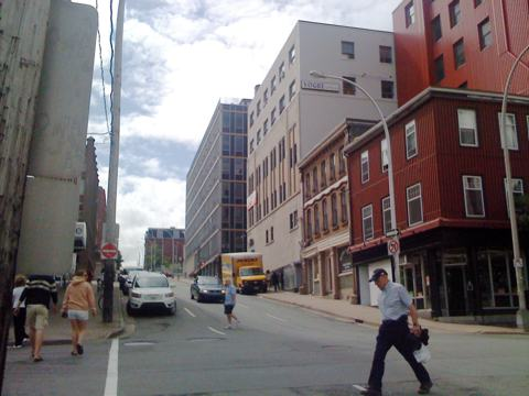 Sackville and Granville Streets, Halifax, Nova Scotia
