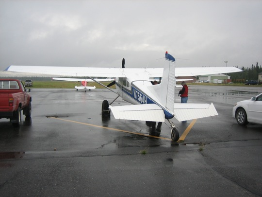 Cessna 185 of Yukon Air Services