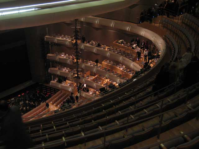 Four Seasons Opera House Interior Seating