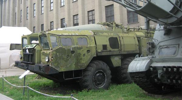 SCUD and Launch Vehicle at Muzeum Wojska Polskiego